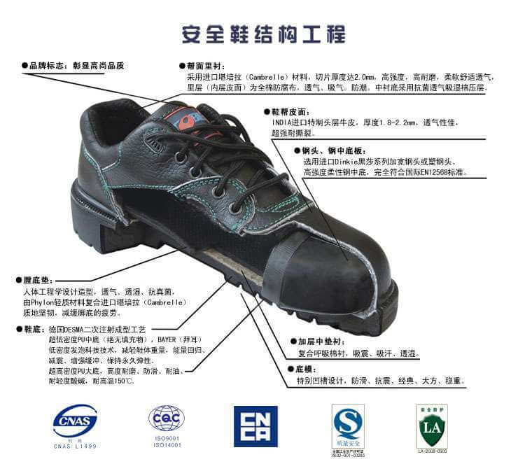 安全鞋结构