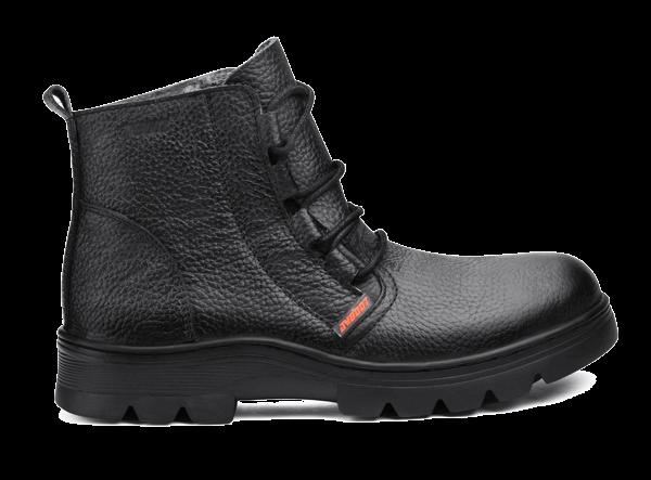 高帮耐高温耐酸碱安全鞋